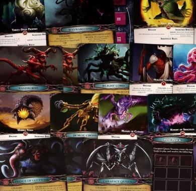 Društvena igra Aeon's End Legacy karte