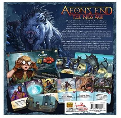 Aeon's End: The New Age, Drustvena igra, porodicna igra, igra za poklon, zabava, poklon, beograd, srbija, online prodaja drustvenih igara