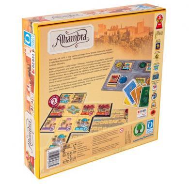 Alhambra, Drustvena igra, porodicna igra, igra za poklon, zabava, poklon, beograd, srbija, prodaja drustvenih igara