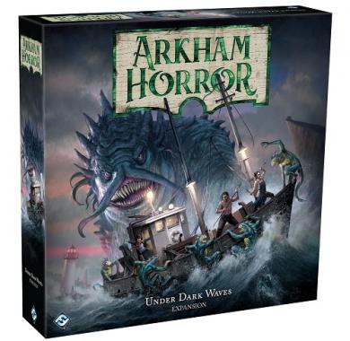 Društvena igra Arkham Horror Third Edition Under Dark Waves ekspanzija