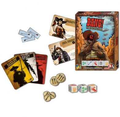 Društvena igra Bang! Dice Game, zabavne igre, party igre, društvene igre Beograd, igre na tabli, strateške igre