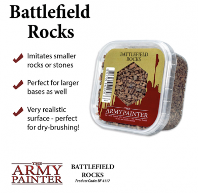 Battlefield Rocks, Basing, tuft, baze, minijature, izrada terena, tereni, izrada baza, flock