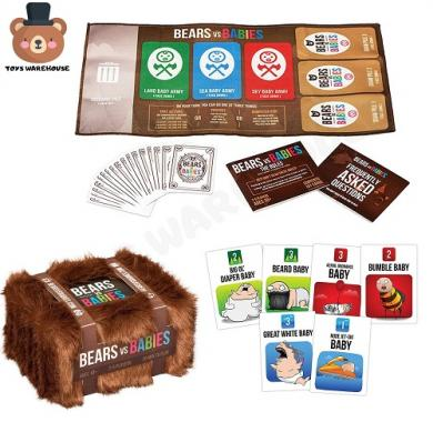 Bears vs Babies, Drustvena igra, porodicna igra, igra za poklon, zabava, poklon, beograd, srbija, online prodaja drustvenih igara