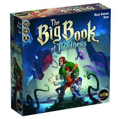 Drustvena igra Big Book of Madness, Drustvena igra, tematska igra, strateska igra, zabava, poklon, beograd, srbija, online prodaja drustvenih igara