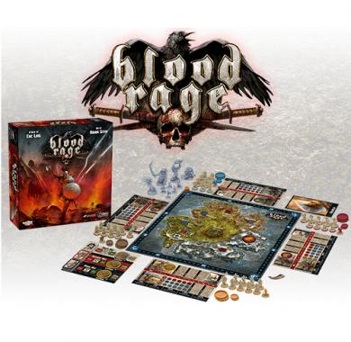 Drustvena igra, Blood Rage Srbija, beograd, zabava
