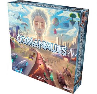 Društvena igra Comanauts: An Adventure Book Game pakovanje
