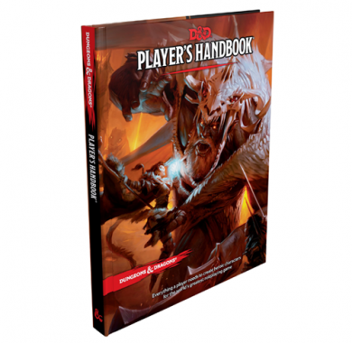 D&D 5th Edition Player's Handbook, FRP, fantasy role playing, tamnice i zmajevi