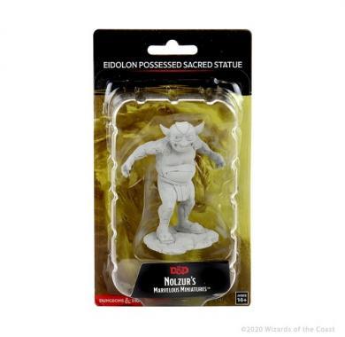 D&D Nolzur's Marvelous Miniatures Eidolon Possessed Sacred Statue, drustvene igre, drustvena igra, D&D, figure, minijature, miniji, figurice, dungeons and dragons, drustvene igre prodaja, neobojena