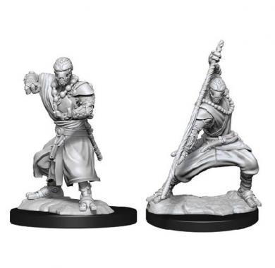 D&D Nolzur's Mini Warforged Monk