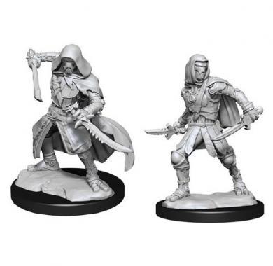 D&D Nolzur's Mini Warforged Rogue