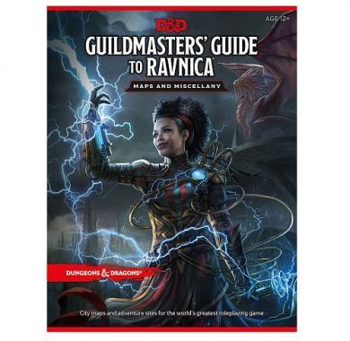 D&D Guildmaster's Guide To Ravnica Map Pack knjiga
