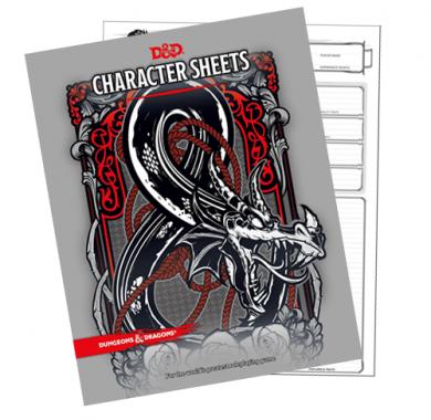 D&D Character Sheets, pakovanje