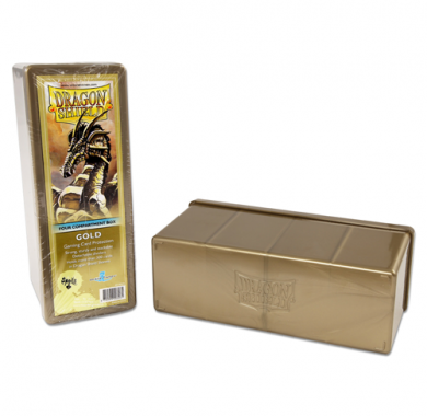 Dragon Shield Four Compartment Storage Box Zlatna, Deck Box