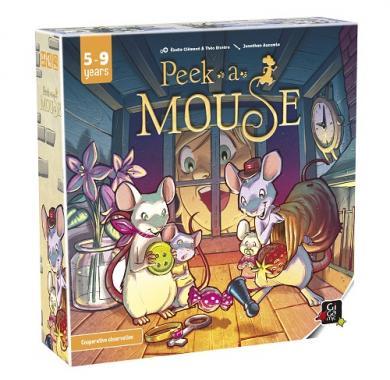 Društvena igra Peek-a-Mouse kutija