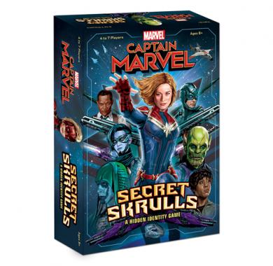 Društvena igra Captain Marvel: Secret Skrulls kutija
