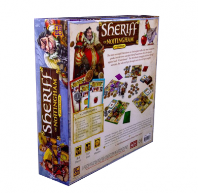 Drustvena ıgra Sheriff of Nottingham 2nd Edition, poledjina kutije