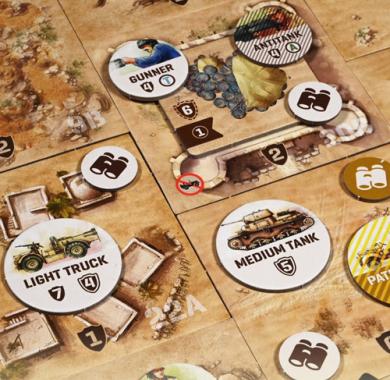 Drustvena Igra Undaunted North Africa, Detalj