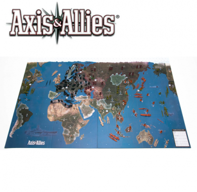 Drustvena igra Axis & Allies 1942, tabla
