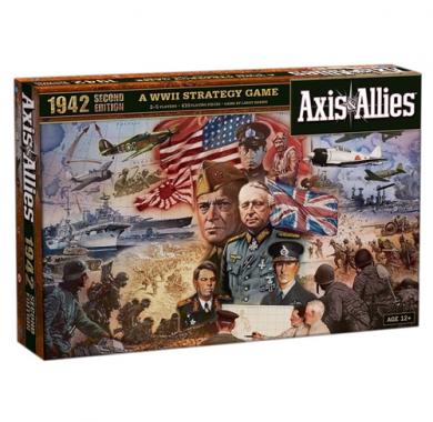 Drustvena igra Axis & Allies 1942, kutija