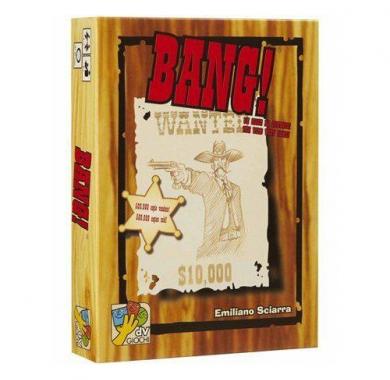 Drustvena igra Bang!, kutija
