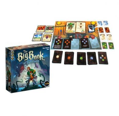 Drustvena igra Big Book of Madness, Drustvena igra, tematska igra, strateska igra, zabava, poklon, beograd, srbija, prodaja drustvenih igara