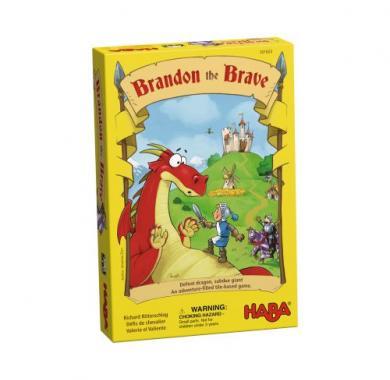Edukativna igra Brandon the Brave, haba, Kutija