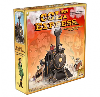 Colt Express, Drustvena igra, porodicna igra, igra za poklon, zabava, poklon, beograd, srbija, online prodaja drustvenih igara