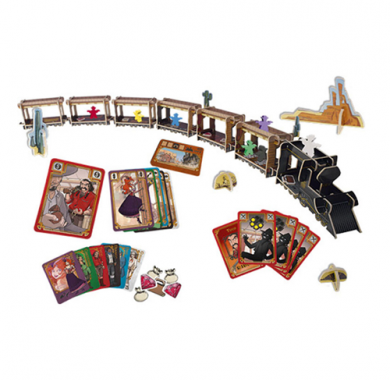 Colt Express, Drustvena igra, porodicna igra, igra za poklon, zabava, poklon, beograd, srbija, prodaja drustvenih igara