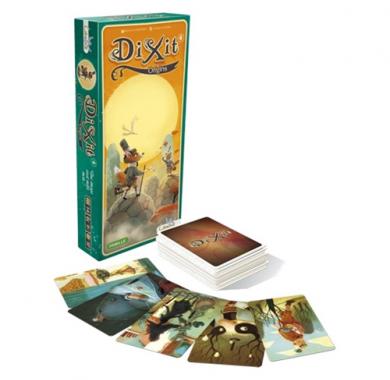 Drustvena Igra DiXit 4 Origins, ekspanzija, kutija i karte