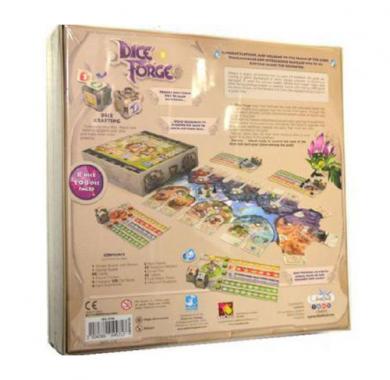 Dice Forge, društvena igra, board igra, board game, party igra, family game, porodična igra, zabava, igre na tabli, društvene igre