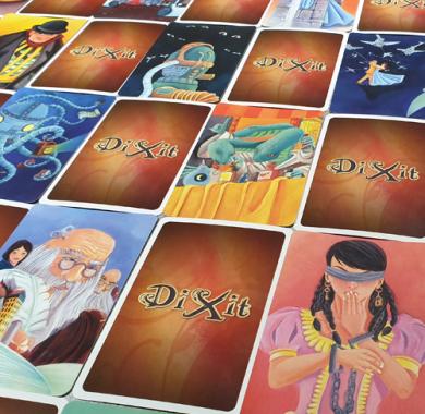 Drustvena igra Dixit Odyssey, zabavna igra, karte