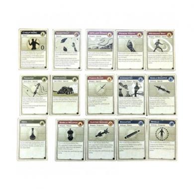 Drustvena igra Dune Ixians and Tleilaxu, ekspanzija, karte