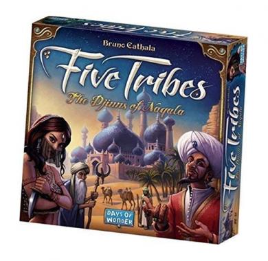 Five Tribes, Drustvena igra, tematska igra, strateska igra, zabava, poklon, beograd, srbija, online prodaja drustvenih igara