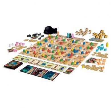 Five Tribes, Drustvena igra, tematska igra, strateska igra, zabava, beograd, srbija, online prodaja drustvenih igara