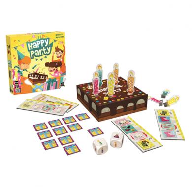 Edukativna igra Happy Party, drustvena igra, postavka