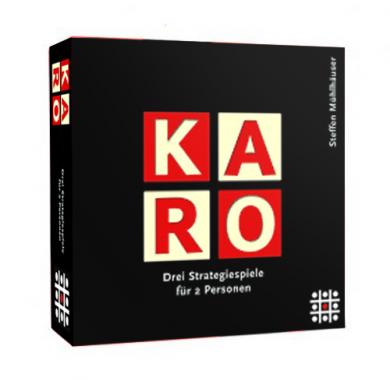 Edukativna igra Karo, Steffen Spiele, Kutija