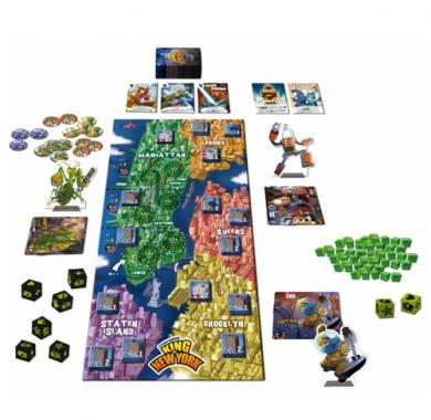 King of New York, Drustvena igra, porodicna igra, igra za poklon, zabava, poklon, beograd, online prodaja drustvenih igara