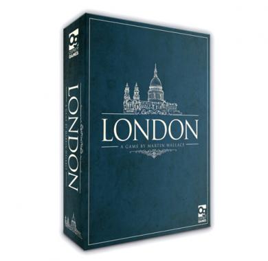 Društvena igra London, Kutija
