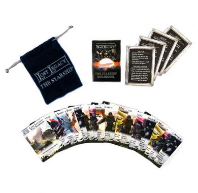 Drustvena igra Lost Legacy The Starship, Karticna igra, card game, Sadržaj kutije