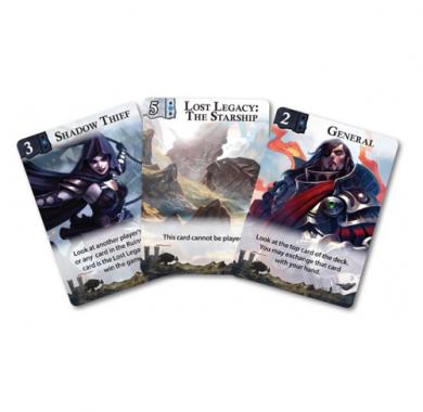 Drustvena igra Lost Legacy The Starship, Karticna igra, card game, Karte