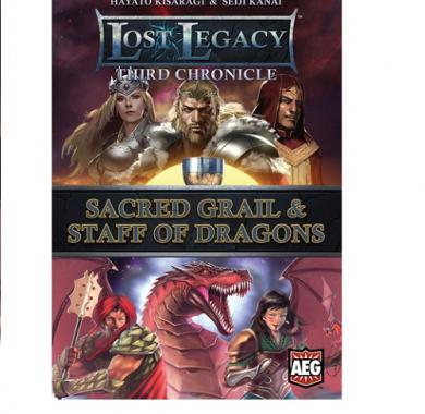 Drustvena igra Lost Legacy: Sacred Grail & Staff of the Dragon