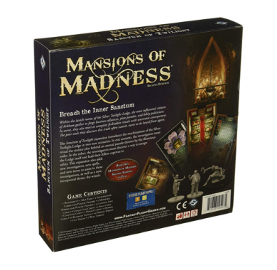 Društvena igra Mansions of Madness Sanctum of Twilight kutija