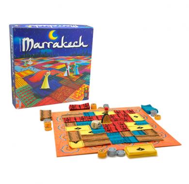 Edukativna igra Marrakech, gigamic, kutija i tabla