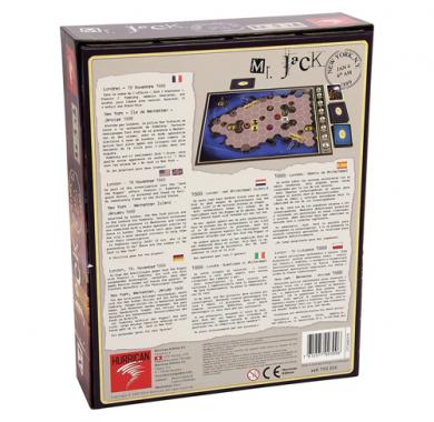 Mr. Jack in New York, Drustvena igra, tematska igra, strateska igra, zabava, poklon, beograd, srbija, prodaja drustvenih igara