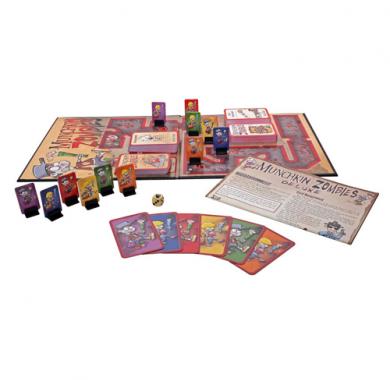 Drustvena igra Munchkin Zombies Deluxe, Postavka igre