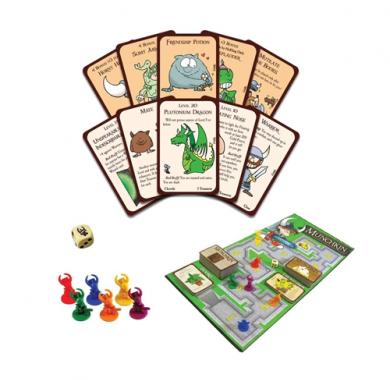 Drustvena igra Munchkin Deluxe, tabla i karte