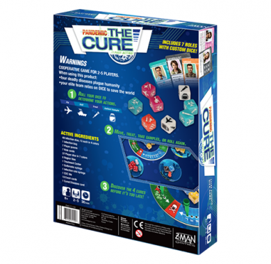Pandemic: The Cure, Drustvena igra, porodicna igra, igra za poklon, zabava, poklon, beograd, srbija, prodaja drustvenih igara