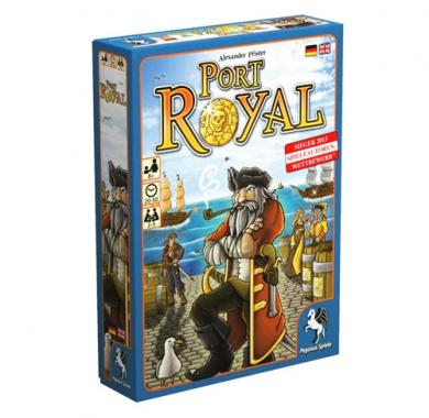 Drustvena igra Port Royal, kutija