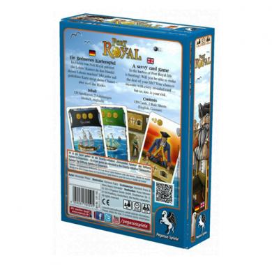 Drustvena igra Port Royal, poledjina kutije