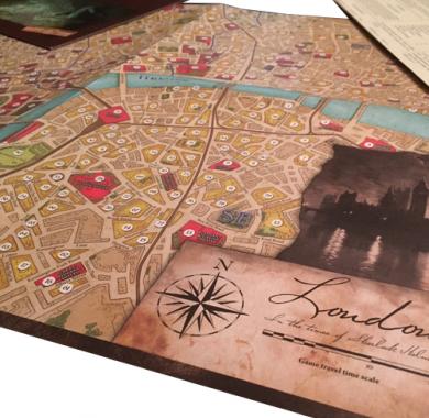 Sherlock Holmes: The Baker Street Irregulars, detalj
